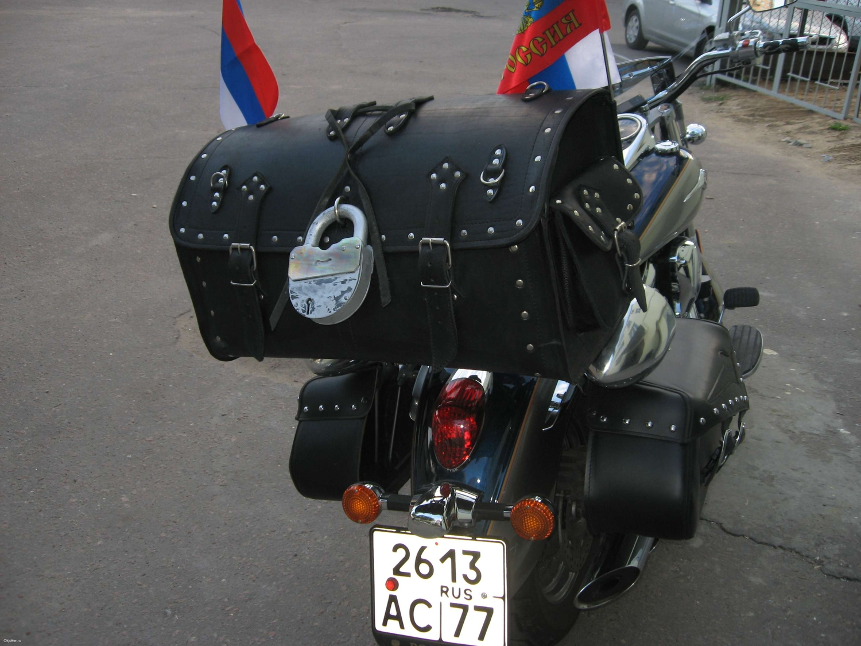 Мотоцикл из кожи своими руками